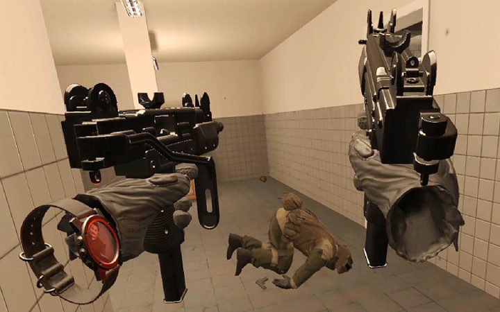 Pavlov VR multiplayer shooter