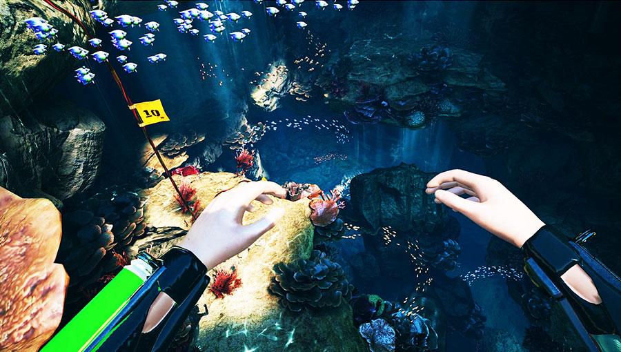 Freediver Triton Down Full Walkthrough : Scary Diving in VR