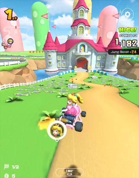Mario Kart Tour : 3DS Mario Circuit (Rosalina Cup)