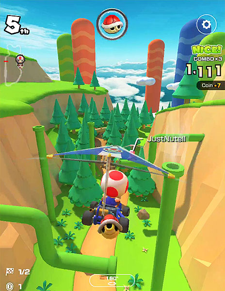 Mario Kart Tour : Rock Rock Mountain