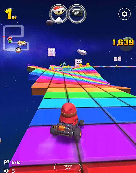 Mario Kart Tour : SNES Rainbow Road (Rosalina Cup)