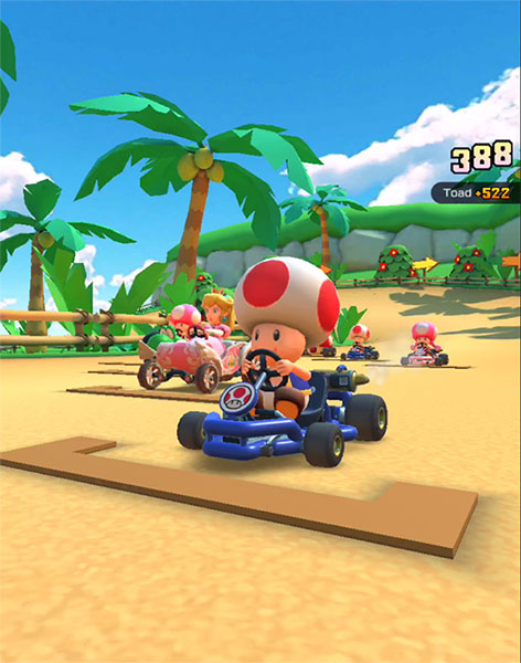 Ready to race 3DS Cheep Cheep Lagoon on Mario Kart Tour