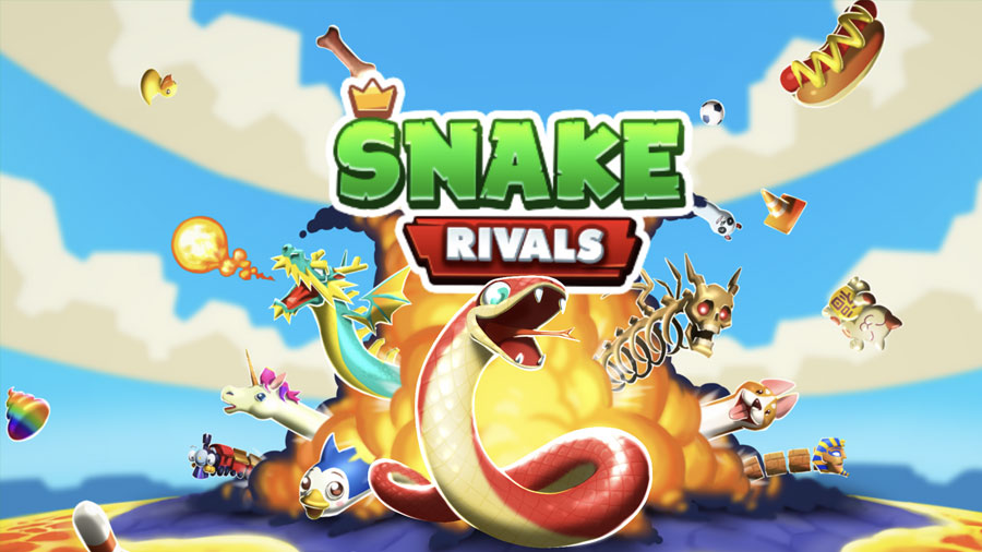 New Multiplayer Snake io Game on iphone