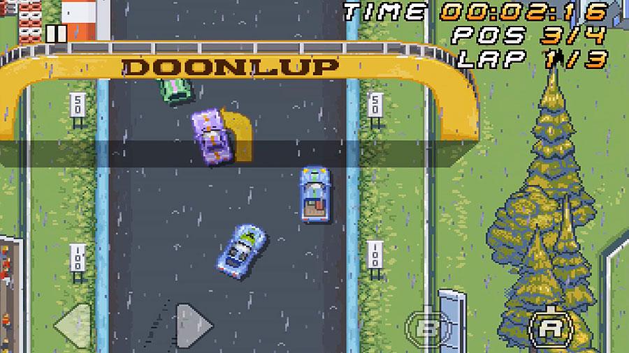 SUPER ARCADE RACING : Fun Retro Racing Game - iphone