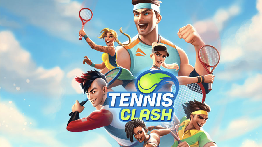 Tennis Clash : Crushing my opponents in New York (iphone)
