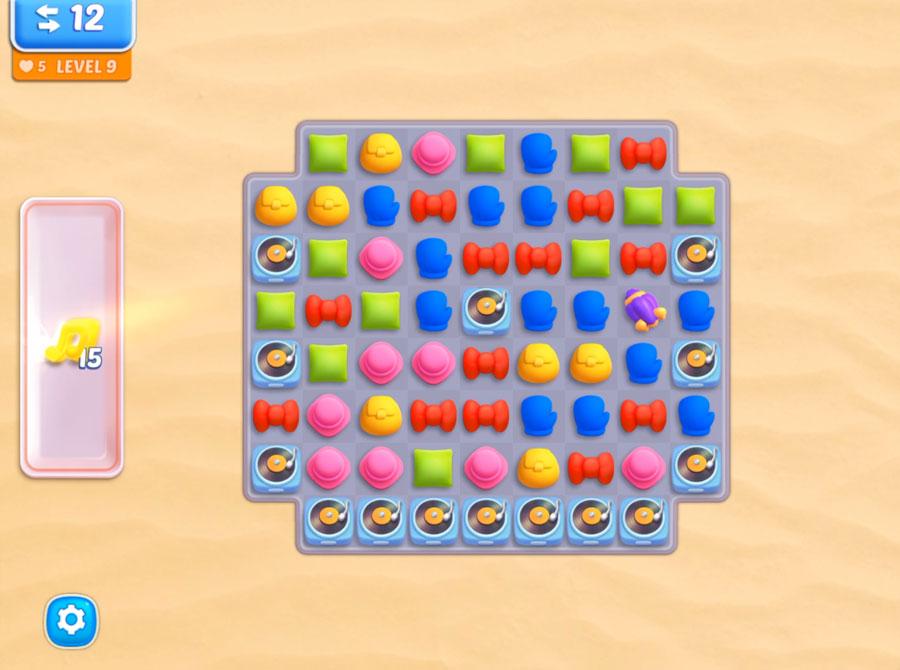 Design Island : Nice puzzle match three (iphone)