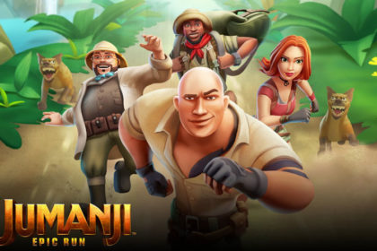Jumanji Epic Run : Temple Run like (iphone)