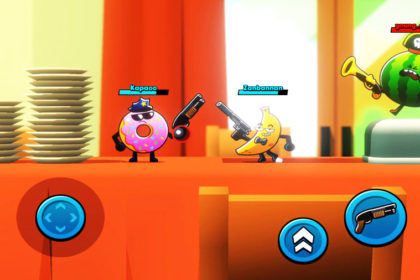 Food gang fun brawl game ios