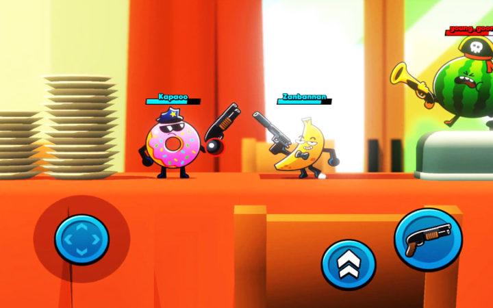 Food gang fun brawl game ios
