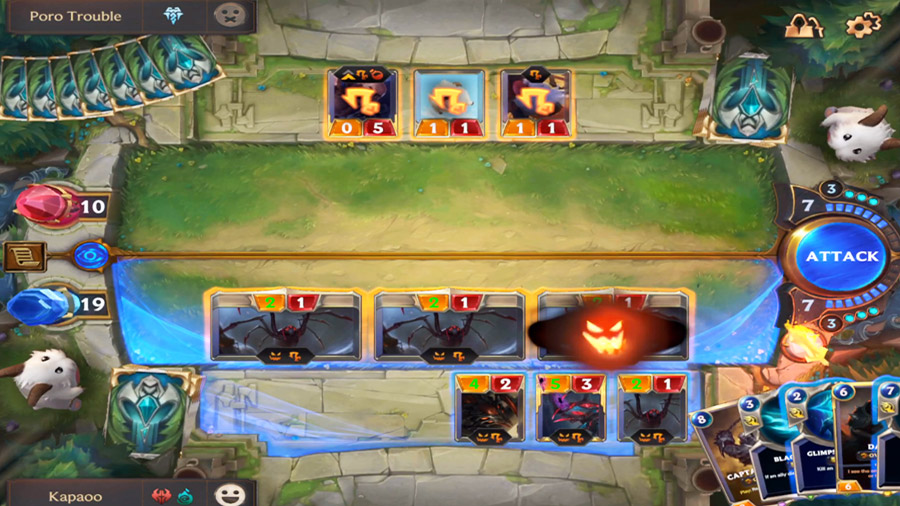 Legends of Runeterra could be the new reference about strategy card game
