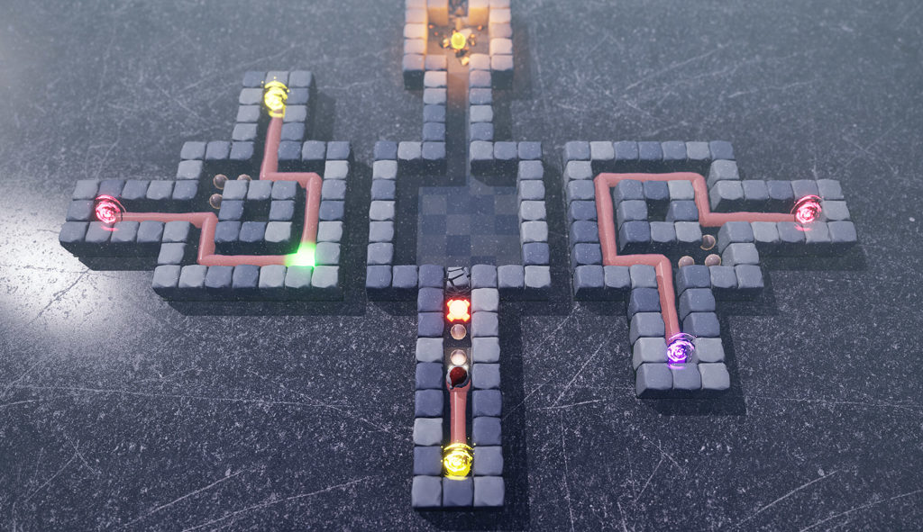 You neeed to think ahead to solve the puzzles of Worm Jazz